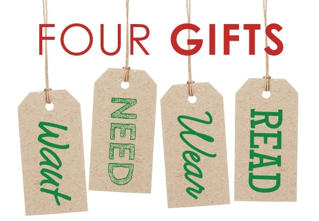 How the 4 Gifts of Christmas Put the Joy Back in Our Holiday | For ...