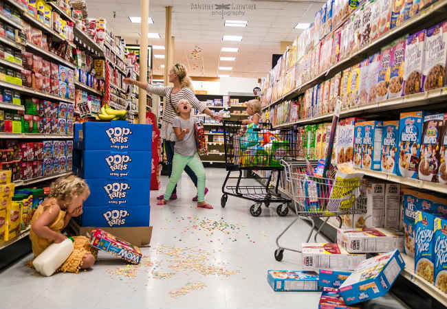 Brilliant Photographer Captures the REAL (Beauty in the) Chaos of Parenting | For Every Mom