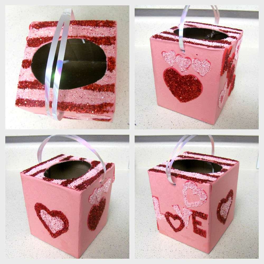 tissue box valentine box - Valentine Boxes For Girls