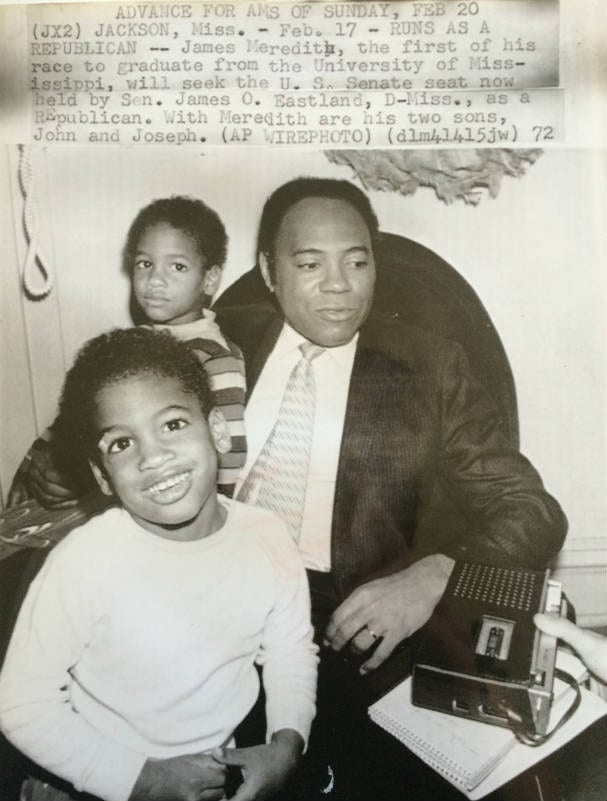 James Meredith and twins feat