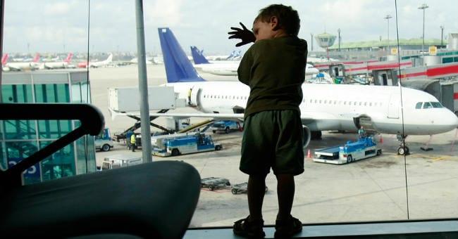 boy at airport 2