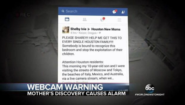 screen shot ABC news