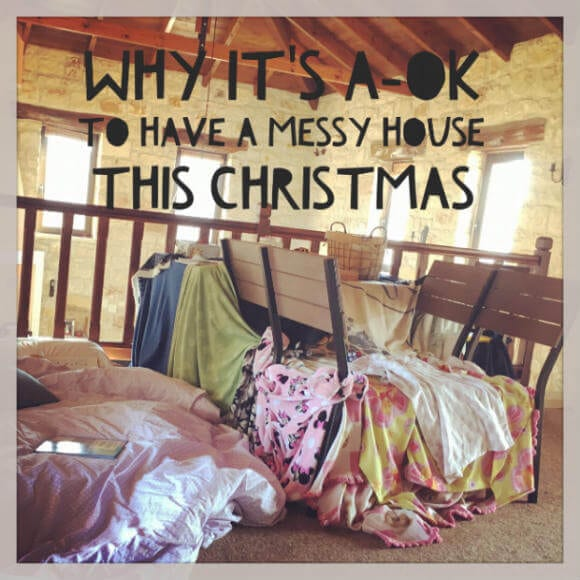 messy house