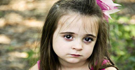 brown eyed children